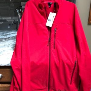 MARMOT MENS TEMPO JACKET RED SIZE LARGE NEW
